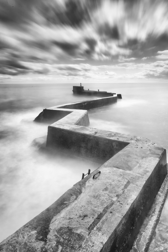 St Monans Breakwater by John Drummond