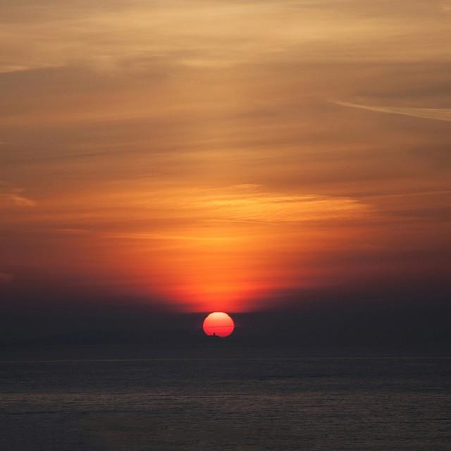 Sunrise over May Isle