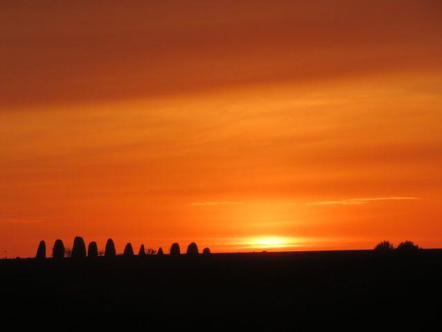 Sunset frieze 3