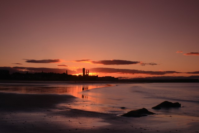 East Sands Sunset