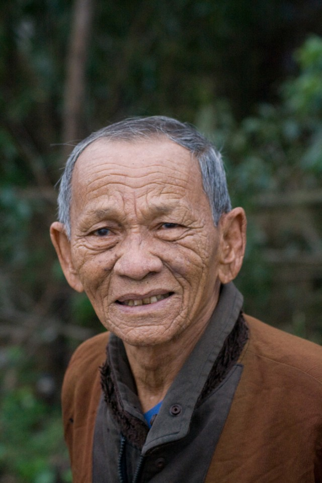 Vietnamese village elder