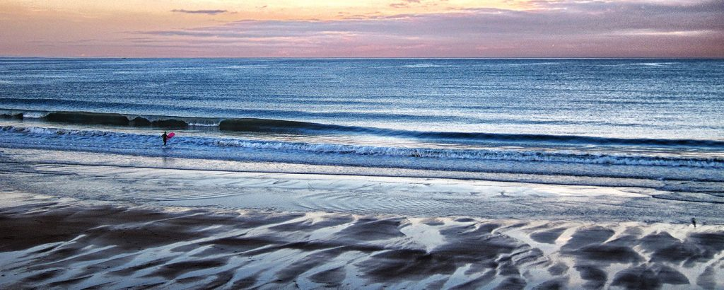3rd, 'Surfer at Dusk', Dave Vallis