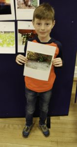 Connor Mackay, Lawhead Primary School, with his winning Kodak Cup image.
