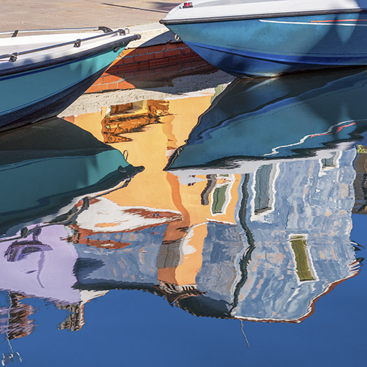 Burano  Boats - Alison Smith